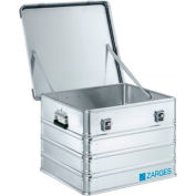 """Zarges K-470 Aluminum Shipping and Storage Case 40839 - 25-5/8""""L x 24""""W x 18-1/2""""H Silver"""