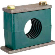 """3/8"""" P Clamp Assembly For High Pressure Hoses Pipe or Tube"""