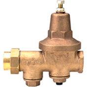 Zurn 112-600XL 1-1/2 In. Pressure Reducing Valve - FNPT Single Union x FNPT - Lead Free Cast Bronze
