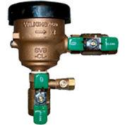 Zurn 12-460XL 1/2 In. FNPT x FNPT Spill Resistant Pressure Vacuum Breaker - 150 PSI - Cast Bronze
