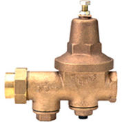 Zurn 12-600XL 1/2 In. Pressure Reducing Valve - FNPT Single Union x FNPT - Lead Free Cast Bronze