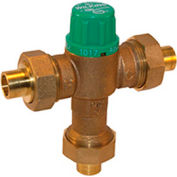 Zurn 34-ZW1017XL 3/4 In. FNPT Thermostatic Mixing Valve - Lead-Free Cast Bronze - ASSE1017
