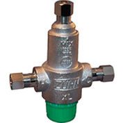 Zurn 38-ZW3870XLT 3/8 In. Compression Thermostatic Mixing Valve - Lead-Free Cast Bronze - 3 Port