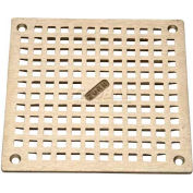 "Zurn 8"" x 8"" Square Floor Drain W/Screws, Nickel"