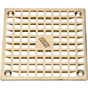 "Zurn 5"" x 5"" Square Floor Drain W/Screws, Nickel"