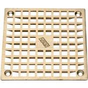 "Zurn 7"" x 7"" Square Floor Drain W/Screws, Nickel"