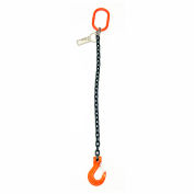Mazzella Lifting B151083 16' Single Leg Chain Sling W/ Sling Hook