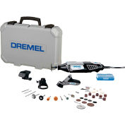 Dremel® 4000-4/34 4000-Series Variable Speed Rotary Tool Kit w/ 4 Attachments & 34 Accessories