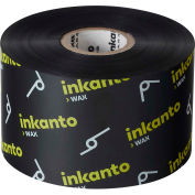 Inkanto T65113IO Resin-Enhanced Wax Ribbon, 165mm x 450m, AWX FH, 6 Rolls/Case