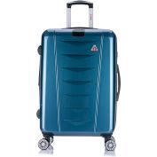 "InUSA AirWorld Lightweight Hardside Luggage Spinner 24"" - Navy Blue"