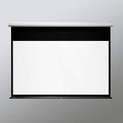 """Draper® Luma Manual Projection Screen, 109"""" Diagonal Size, Matte White"""