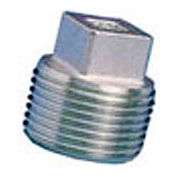 General Plug & Manufacturing Plug 300# Galvanized Steel - 3/8'' - Pkg Qty 100