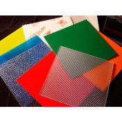 "AIN Plastics Polycarbonate GP Sheet, 48""W. x 96""L .375"" Thick, Bronze"