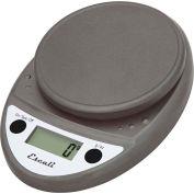 Escali P115M Primo Compact Digital Scale, 5000 g x 1 g, Metallic