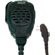 RCA SM310-X03S Police Style Rubberized Speaker Mic with Screw in Connector, Heavy Duty