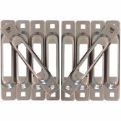 Snap-Loc™ Snaplocs E-Track Single Strap Anchors SLSST10 - Stainless Steel - 10 Pack