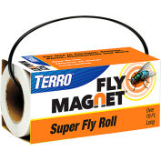 TERRO® Poison Free Fly Magnet Super Fly Roll, 19 Ft. - T521