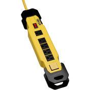 Tripp Lite Power It! Safety Power Strip W/GFCI Plug, 6 Outlets, 15A, 9' Cord