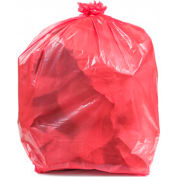 Conductive Trash Liners, 44 Gallon, 2 Mil, Pink, Pack of 50 - WBAS44-LP