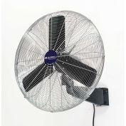 "Global Industrial™ 24"" Industrial Wall Mounted Fan - Oscillating - 7525 CFM - 1/4 HP"