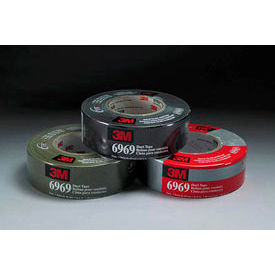 3m™ Duct Tape 6969 Silver, 72 Mm X 54.8 M 10.7 Mil - Pkg Qty 12