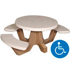 ADA Concrete Picnic Tables