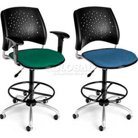 OFM - Moon & Stars Swivel Stool - Fabric Seat