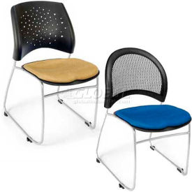 OFM - Moon & Stars Stack Chair - Fabric & Vinyl Seat