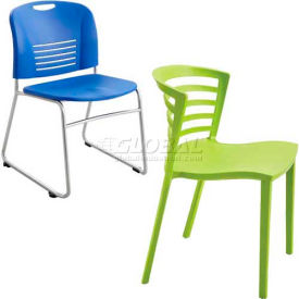 Safco® - Vy & Entourage Stack Chairs