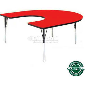 Correll - Horseshoe Activity Tables With Standard & Juvenile Height