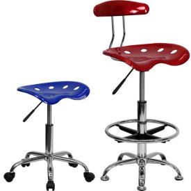 Tractor Seat Stools in Vibrant Colors
