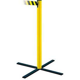 Stowaway Posts w/ Retractable Belt Barriers