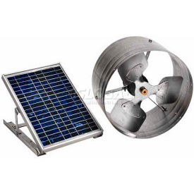 Master Flow® Solar Powered Exhaust Fan