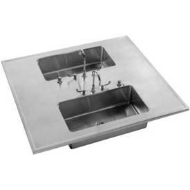 Just Manufacturing Island Sinks