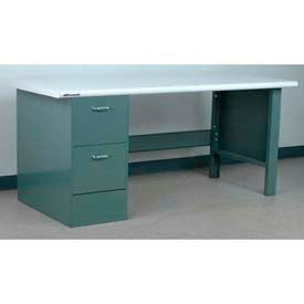 Stackbin Pedestal 2 Drawer/Open Leg