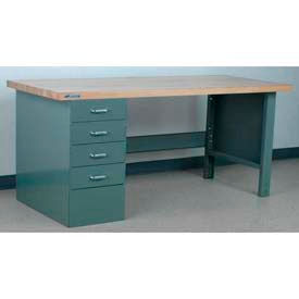 Stackbin Pedestal 4 Drawer/Open Leg-23