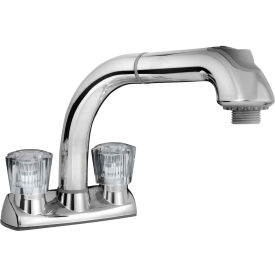 cleanFLO By Madgal Pull Out Laundry/Utility Faucet