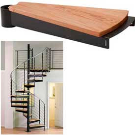 Spiral Staircase - 13 (Risers Only) Package - Red Oak