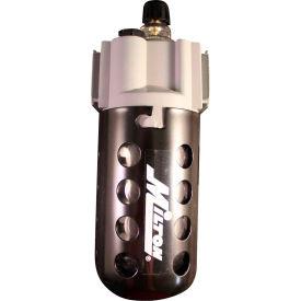 """Milton 1030 Precision Lubricator Polycarbonate Bowl w/ Metal Guard 1/2"""" NPT 150 PSI 5 oz. Bowl"""