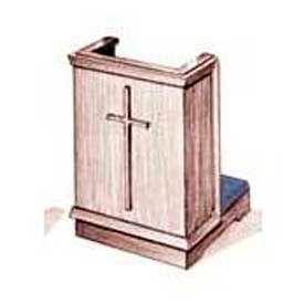 Imperial Woodworking Inc. 400 Series Prayer Desk