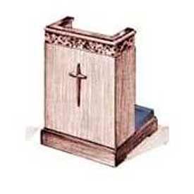 Imperial Woodworking Inc. 500 Series Prayer Desk