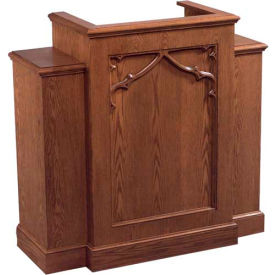 Imperial Woodworking Inc. Pulpits With Wings