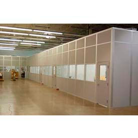 Ebtech Modular Inplant Offices - Steel Panel, Class A Fire & Sound Rated