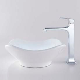 Kraus Ceramic Sinks With Faucets