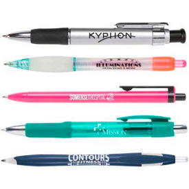 Personalized Ballpoint Pens - Plastic