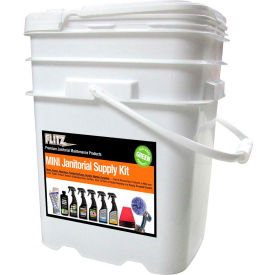 Flitz Janitorial Supply Kit
