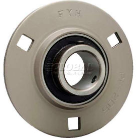 FYH Light Duty Set Screw Type Three-Bolt Flange Mounted Ball Bearings
