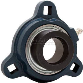 FYH Normal Duty Three-Bolt Flange Mounted Ball Bearings W/Eccentric Collars