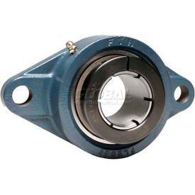 FYH Normal Duty Two-Bolt Flange Mounted Ball Bearings W/Concentric Collars