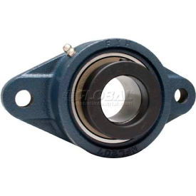 FYH Normal Duty Two-Bolt Flange Mounted Ball Bearings W/Eccentric Collars